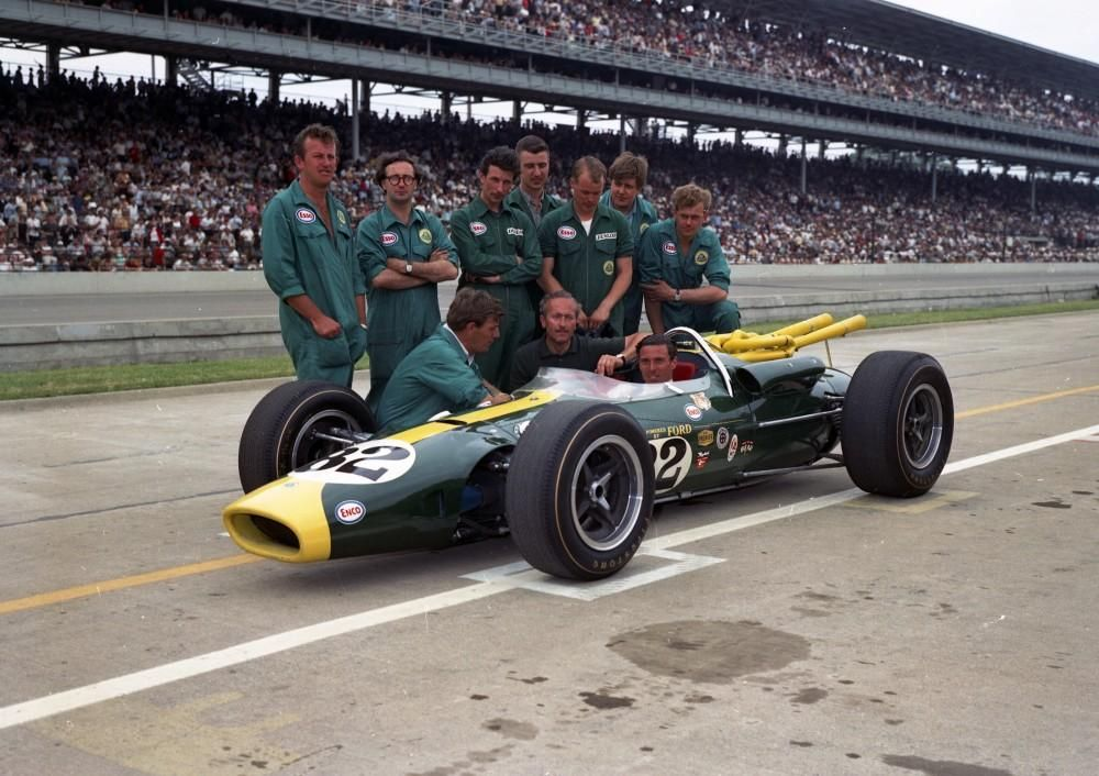 1965 Tipo de imagen Lotus 38   jim clark & team lotus   Pinterest ...