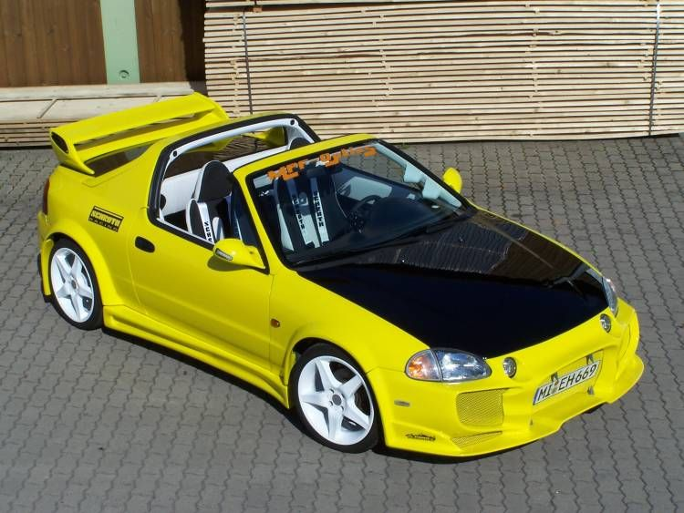 honda crx tuning that color with those rims yes. Black Bedroom Furniture Sets. Home Design Ideas