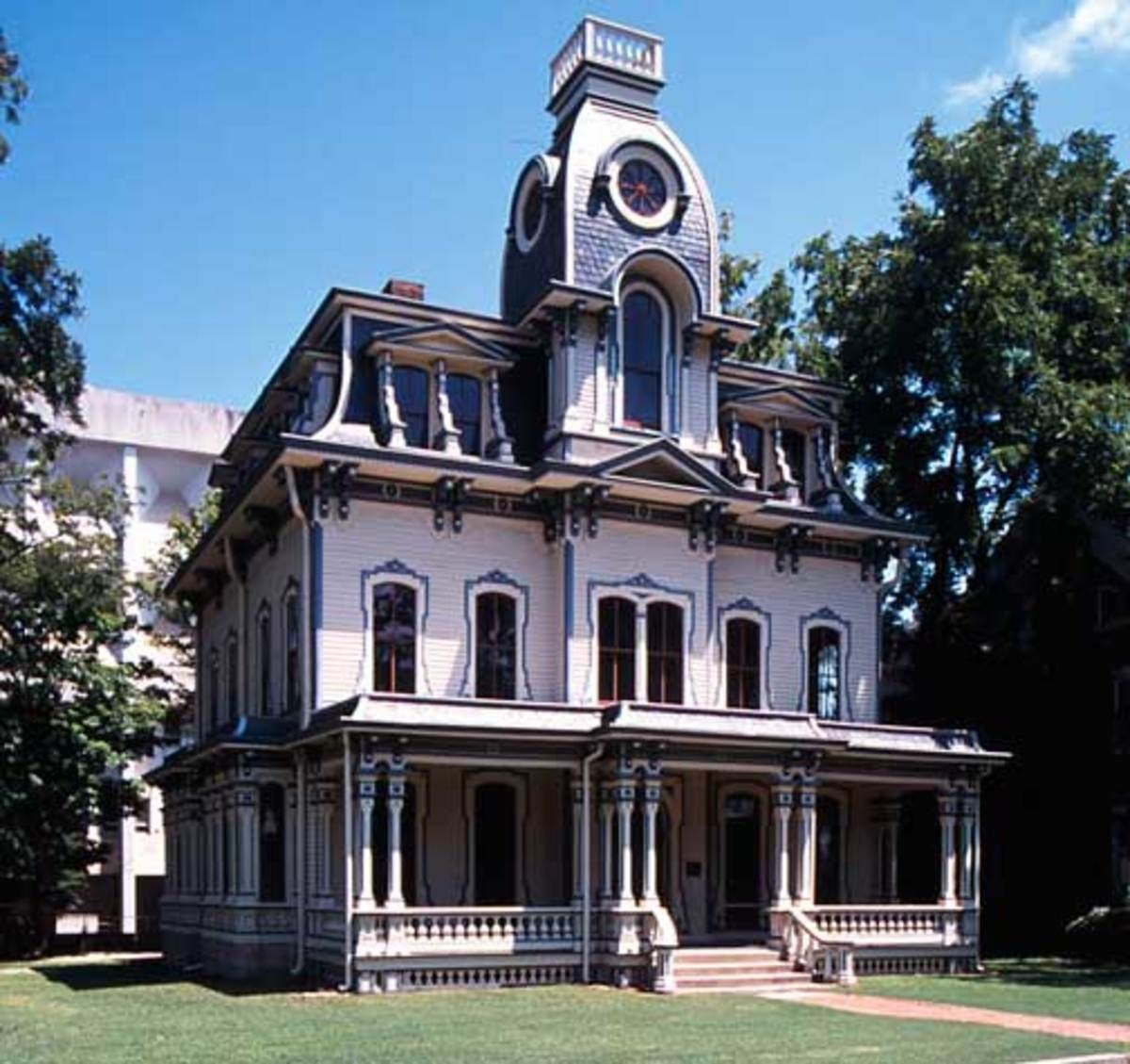 The Mansard Roof And Second Empire Style Empire House Mansard Roof Victorian Houses For Sale