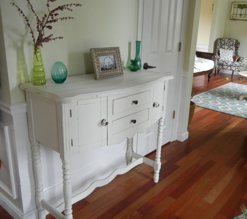 Attractive Shabby Chic With Annie Sloan Chalk Paint · Shabby Chic Console TableConsole  ...