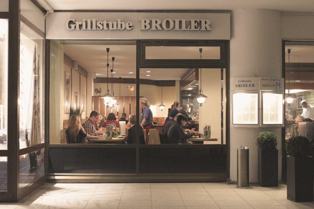 Die Broiler-Bar in Warnemünde.