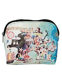 HOTTOPIC.COM - Disney Peter Pan Never Neverland Cosmetic Bag