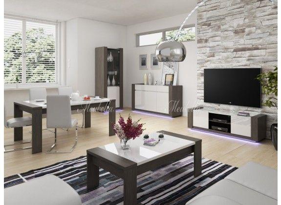 woonkamer arulo is een modern en strak vormgegeven set meubels