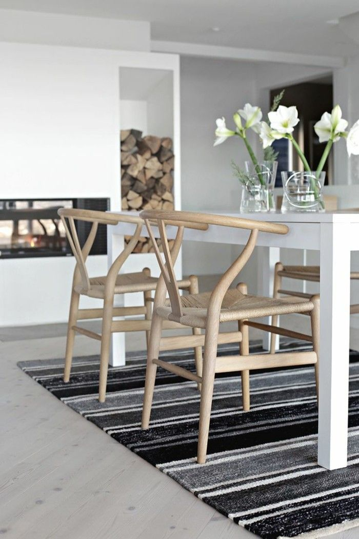 esszimmerstuhl skandinavisches flair f r 2017 skandinavische einrichtung skandinavisch und. Black Bedroom Furniture Sets. Home Design Ideas