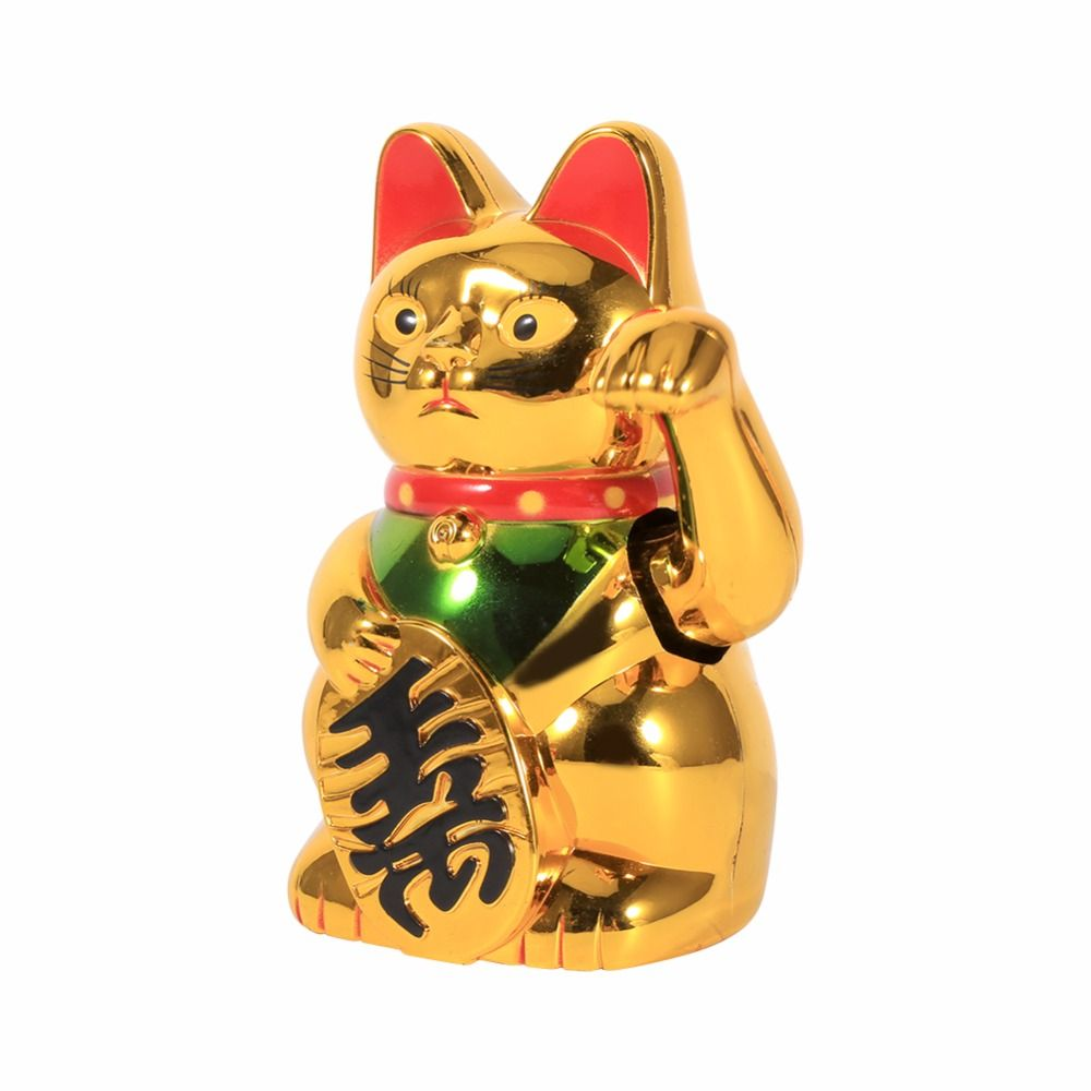 Large gold waving hand paw up wealth prosperity welcoming cat good large gold waving hand paw up wealth prosperity welcoming cat good luck feng shui decoration chinese biocorpaavc Images