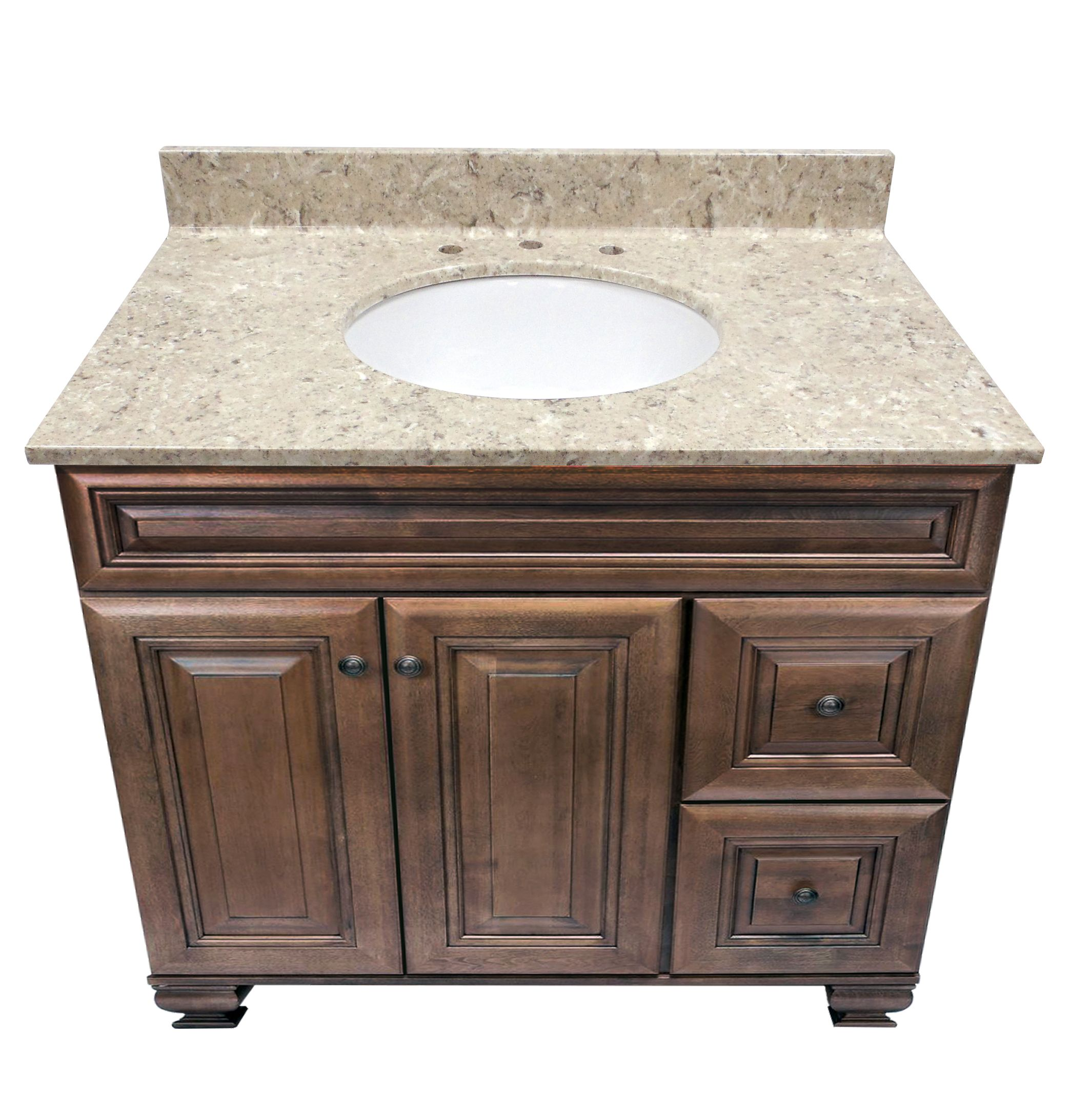 Us Marble Cultured Veined Granite Shown In River Bottom
