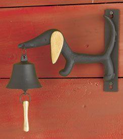 Dachshund Metal Bell