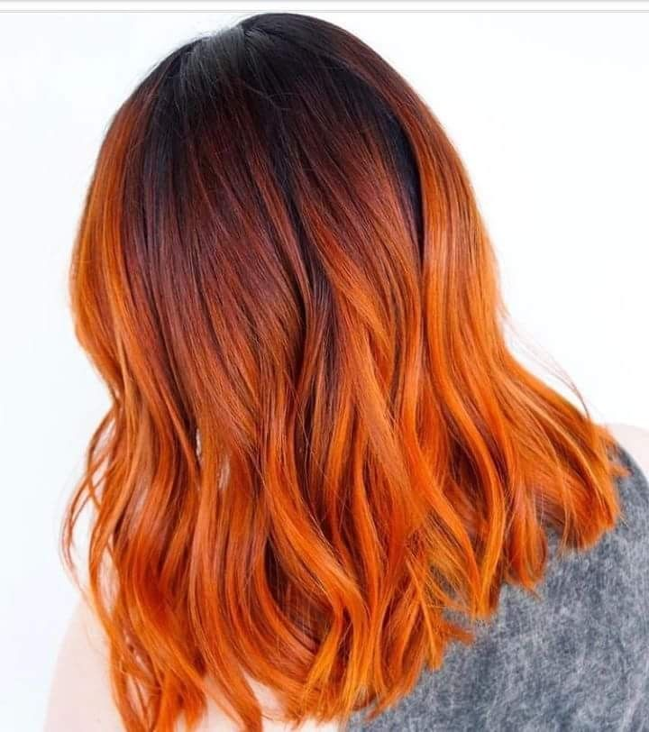 pin by maricarmen on pelo pinterest cabello anaranjado. Black Bedroom Furniture Sets. Home Design Ideas