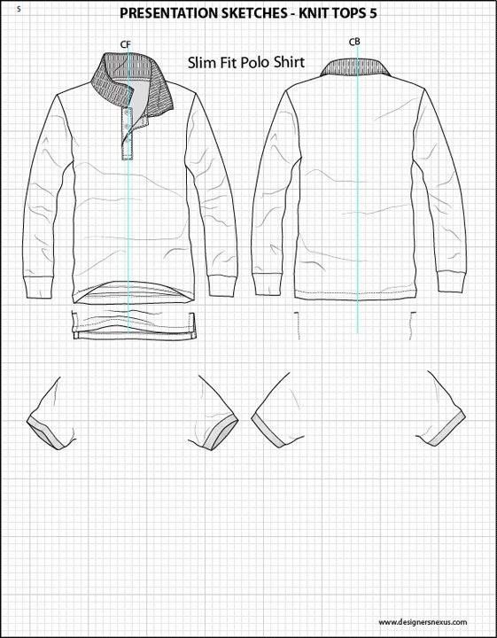 clothing templates for illustrator - mix match 1 045 silhouettes details adobe