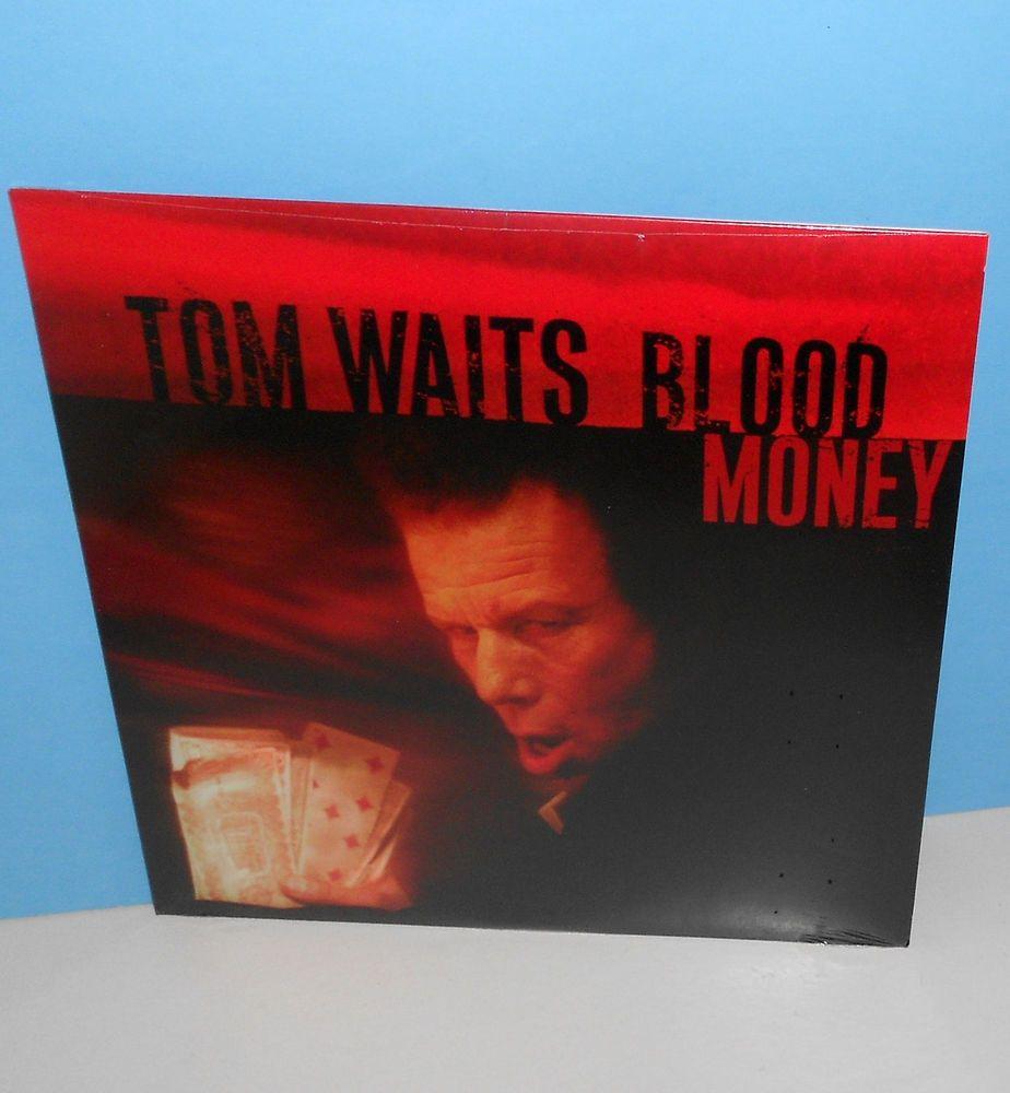 Tom Waits Blood Money Lp Record Still Sealed Vinyl Alternativeindiesingersongwriter Lp Vinyl Vinyl Records Linda Ronstadt