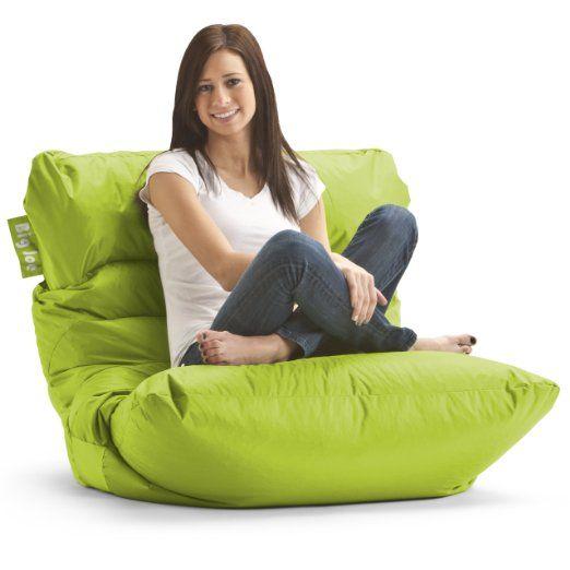 Big Joe Roma Chair Lime Bean Bag Chairs Comes In A Variety Of Colors Bean Bag Chair Cool Bean Bags Bean Bag Lounger
