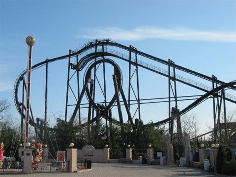 Batman The Ride Six Flags Great Adventure In New Jersey Six Flags Great Adventure Roller Coaster New Roller Coaster