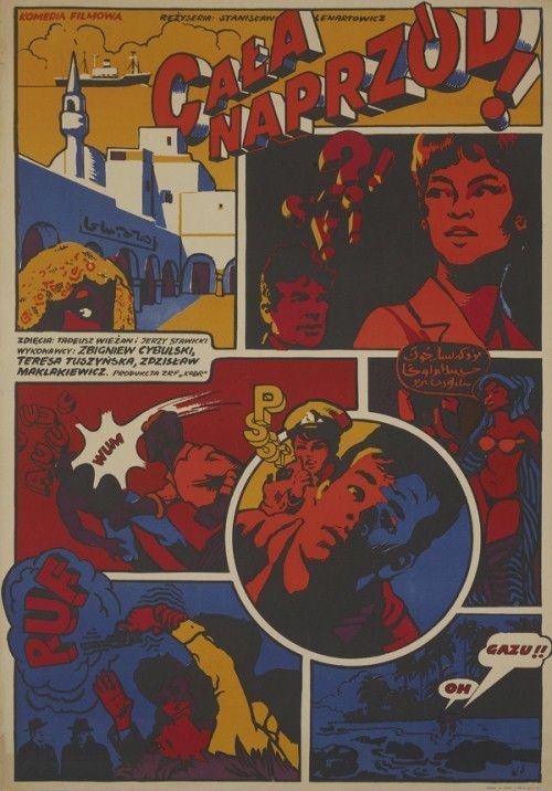 Cała Naprzód Komiks Plakaty Filmowe Plakat