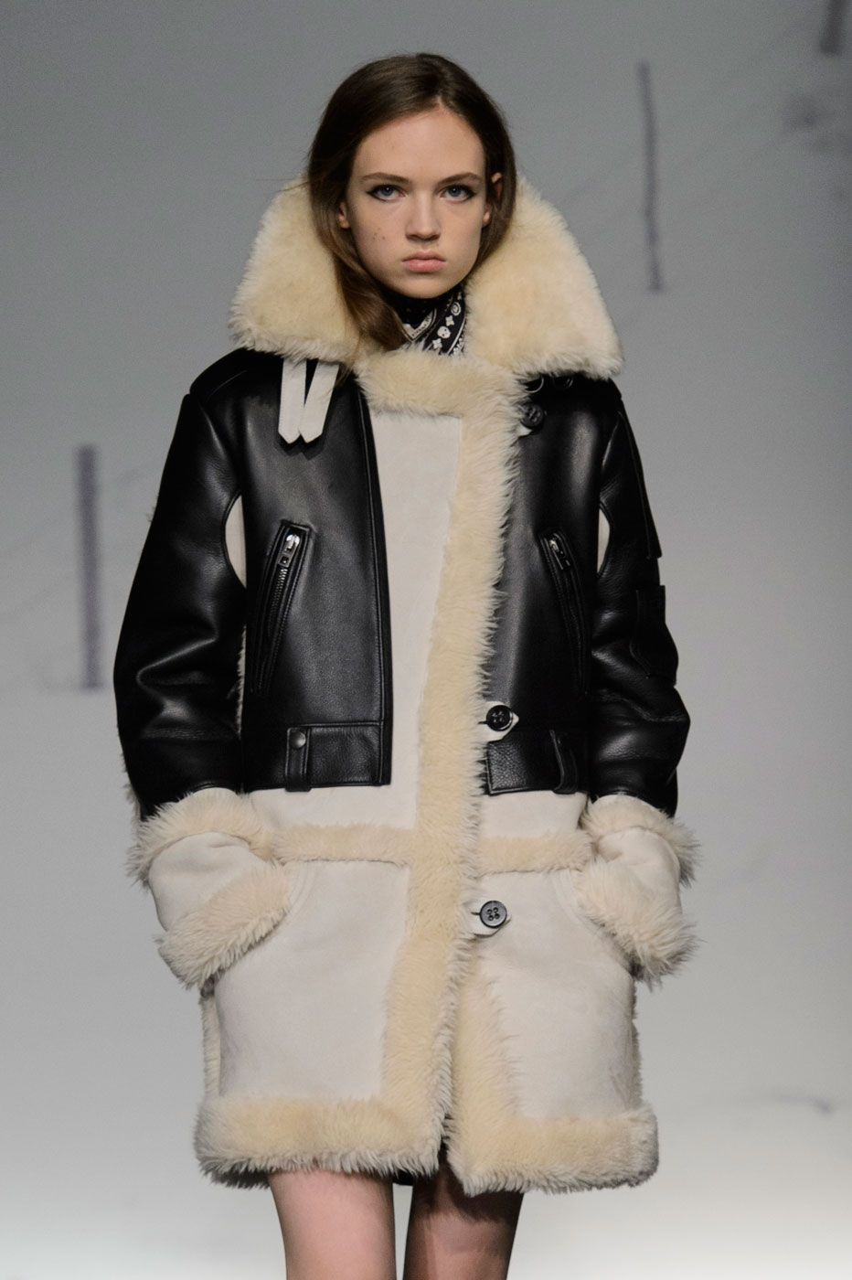 The Absolute Best Runway Pieces From NYFW: Day One | Shearling ...