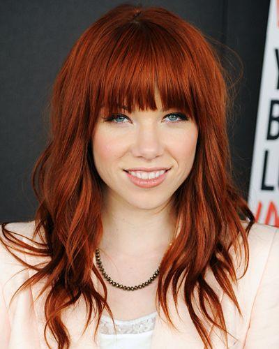 15 Pins zu Rote Frisuren, die man gesehen haben muss  Rubinrotes haar ...