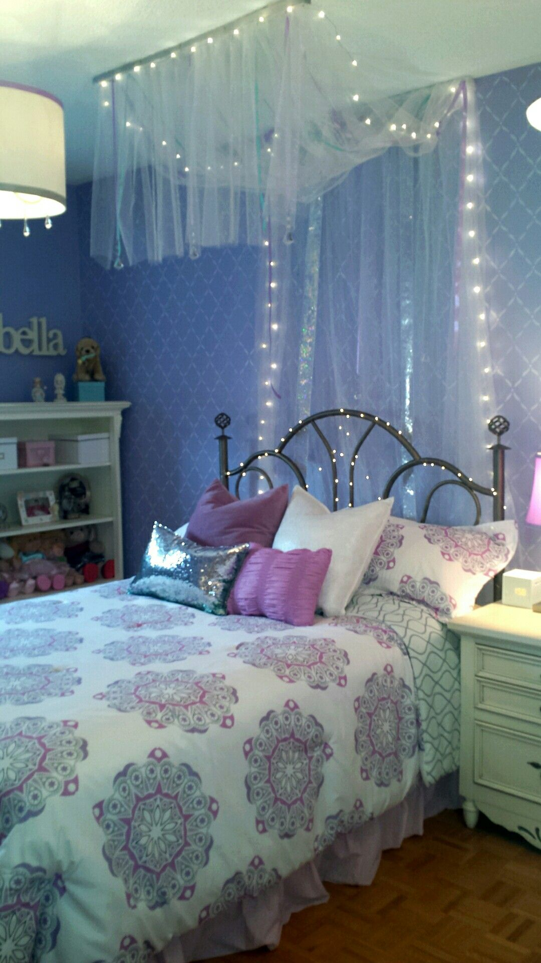 Here Is The Room I Designed For My 13 Year Old Client She Loves It Girl Room Girls Room Decor Room Decor Bedroom