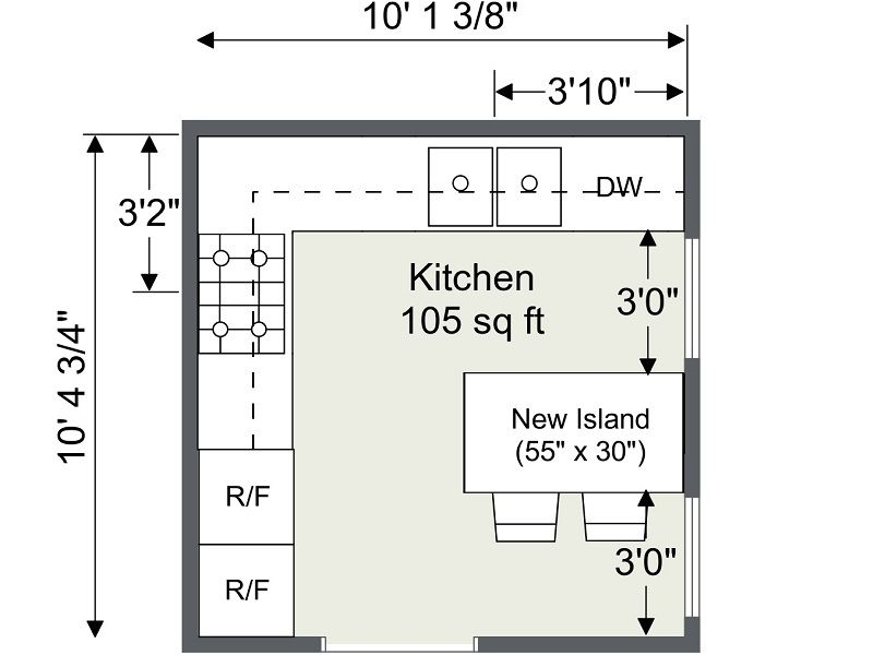 I Think I May Be Starting To Like This Partial Octagon Thing Kitchen Design Plans Kitchen Designs Layout Kitchen Floor Plans