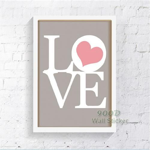 Love Quote Canvas Painting Poster Wall Pictures For Living Room Interesting Love Quotes On Canvas