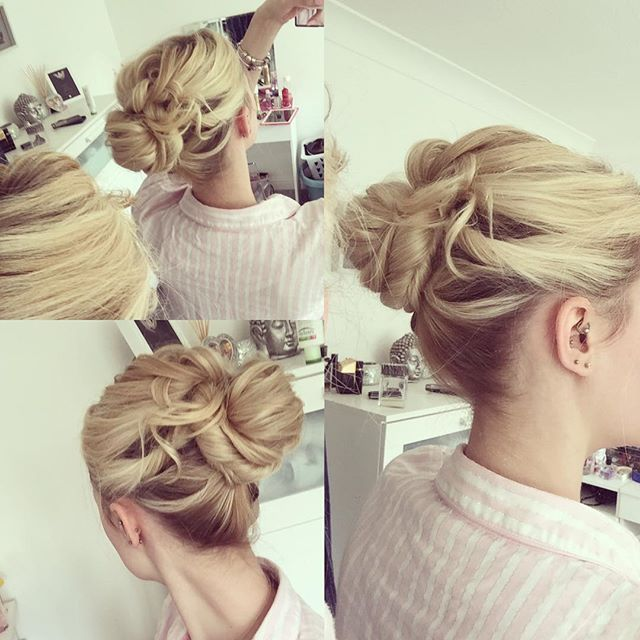 Top 100 updos for long hair photos Easy up-do, self taught from YouTube #hair #updo #updos #weddingguesthair #weddinghair #updosforlonghair #hairstyle #blondehair #longhair #hairoftheday #lovethis #curls #pretty #weekend #saturday #wedding #weddingparty #weddingceremony See more http://wumann.com/top-100-updos-for-long-hair-photos/