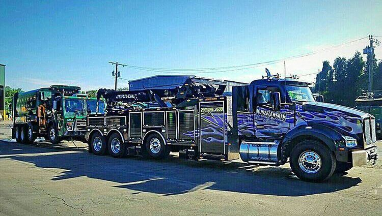 American tow wrecker on duty tow truck pinterest tow