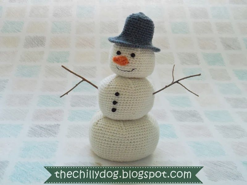 Amigurumi Snowman : Crochet amigurumi snowman pattern snowman amigurumi and crochet