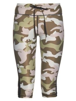 Camouflage-print cropped performance leggings  9444dfb3701