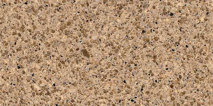 Zodiaq quartz toasted almond countertop