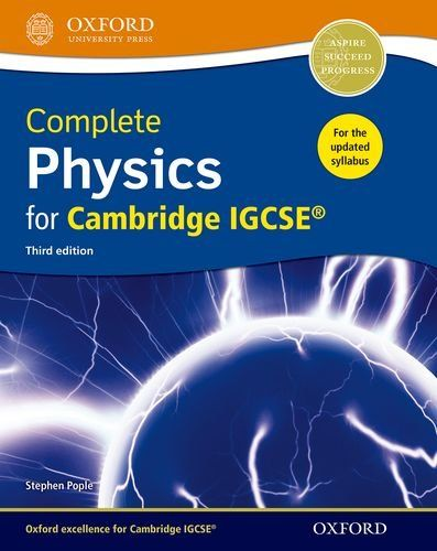 Pdf Complete Physics For Cambridge Igcse Student Book Complete