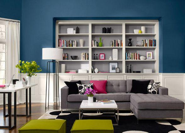 Dise o sala de estar peque a moderna decoraci n de salas for Decoracion sala estar pequena