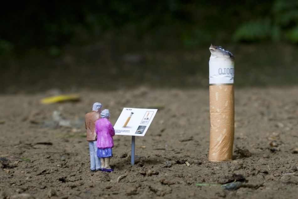 Little people © Slinkachu    https://www.facebook.com/GiovannaGriffo.Photographer