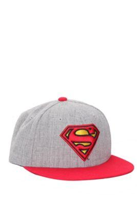 DC Comics Superman Snapback Ball Cap  18.50  72fc7d897a5