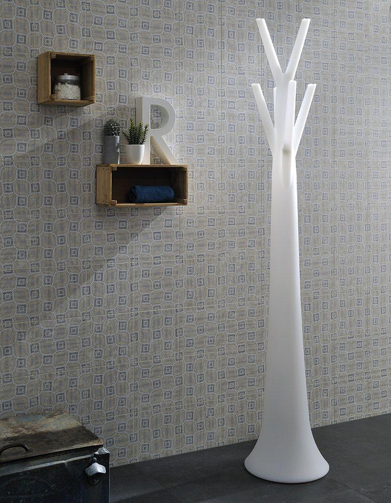 keramische patroontegel 20x20 in zachte tinten en geschikt voor