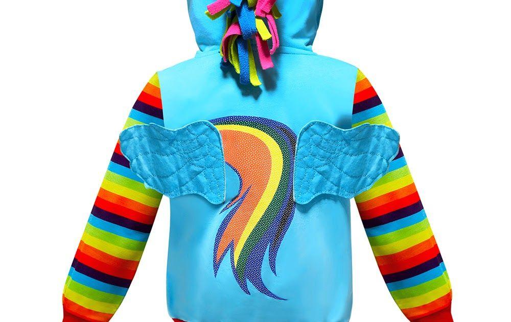 4ed7dc2e1 Discount Up to 50% Baby Boys Cosplay Pony Sweatshirt Children Stripe ...
