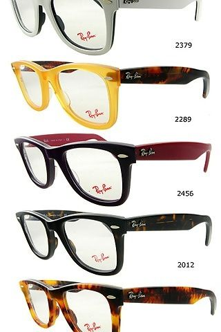 Ray Ban glasses.....mine look like the real thing....almost mine are black  with red inside...rx just for me! 36345a6c116c
