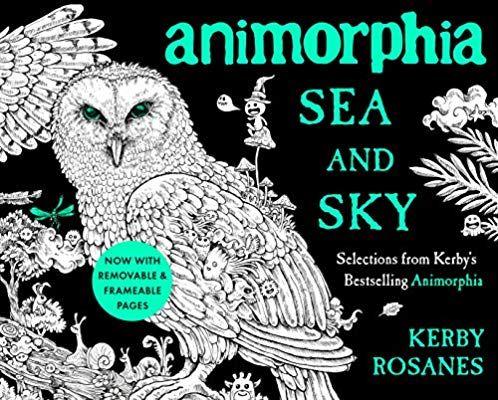 Amazon.com: Animorphia Sea and Sky: Selections from Kerby