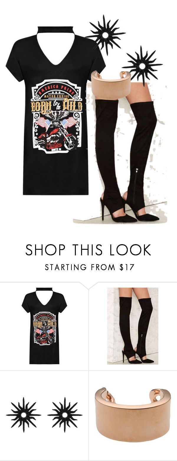 """""""Untitled #2031"""" by faeryrain on Polyvore featuring WearAll, Nasty Gal, Christina Debs and Maison Margiela"""