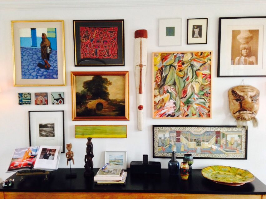 June st. Gallery wall.