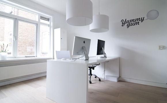 minimal office. simple office minimal mindset in de yummygum office on office i