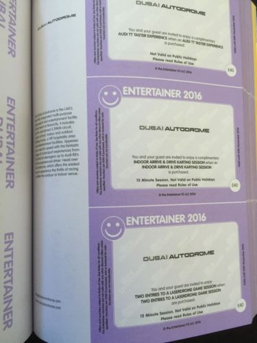 Dubai #autodrome entertainer #dubai 2016 vouchers - audi tt go - entertainer sample resumes
