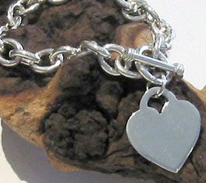 The One and Only Silver Heart Bracelet