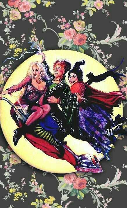 Hocus Pocus Halloween Wallpaper Iphone Halloween Wallpaper Halloween Backgrounds