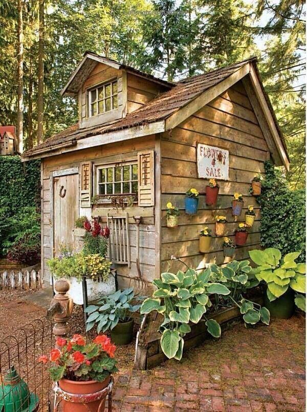 Beautiful little shed Outdoor Spaces,sheds and cottages - Potting Shed Designs
