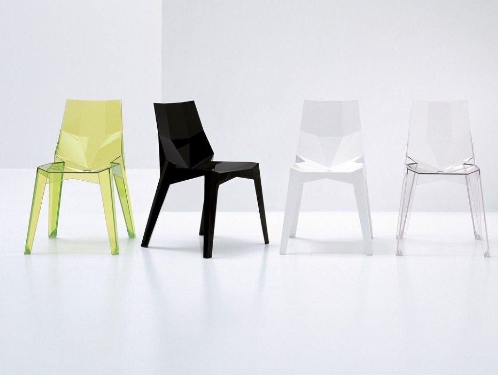 by Karim Bonaldodesign chair Stackable polycarbonate POLY PkXN0n8wO