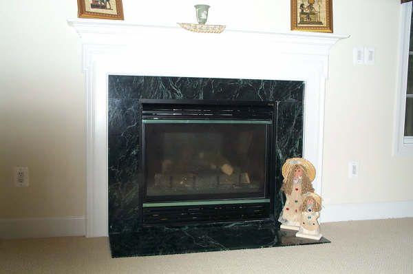 cantera stone fireplace surrounds
