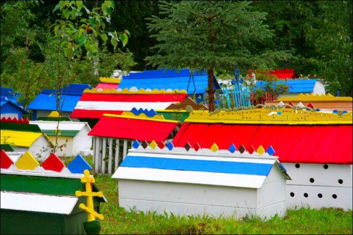 Spirit Houses in Alaska