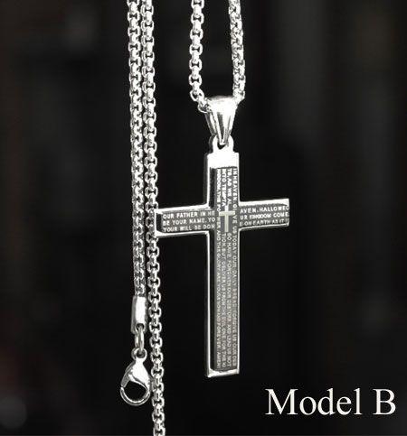 Titanium stainless steel cross pendant necklaces for men titanium stainless steel cross pendant necklaces for men aloadofball Image collections