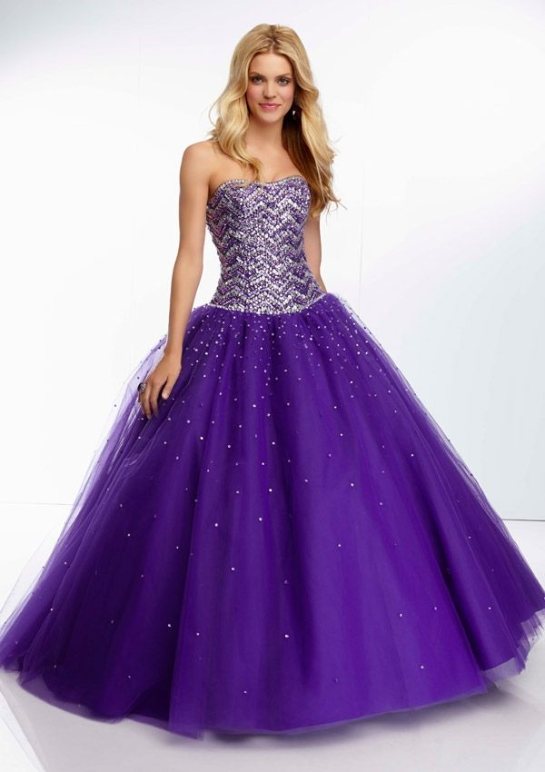 prom dress from Paparazzi by Mori Lee Dress Style 95036 Tulle Prom ...