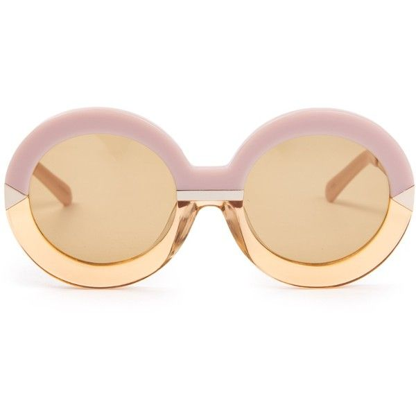 378fa78316e Karen Walker Eyewear Hollywood Pool sunglasses ( 295) ❤ liked on Polyvore  featuring accessories