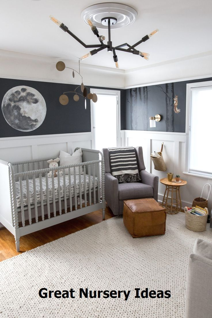 Baby Boy Bedroom: Amazing Nursery Ideas #nurseryideas #cutebabyroom