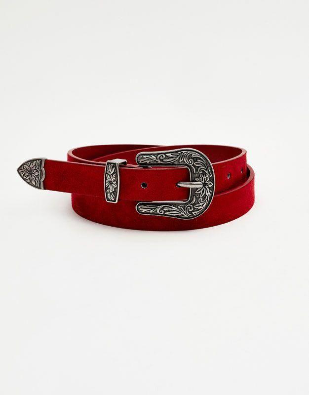 magasin en ligne 6dba3 79e6b Ceinture cowboy - Ceinture - Accessoires - Femme - PULL&BEAR ...